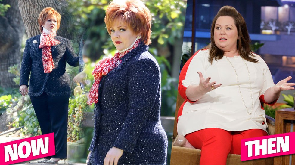 Melissa McCarthy before and after photos